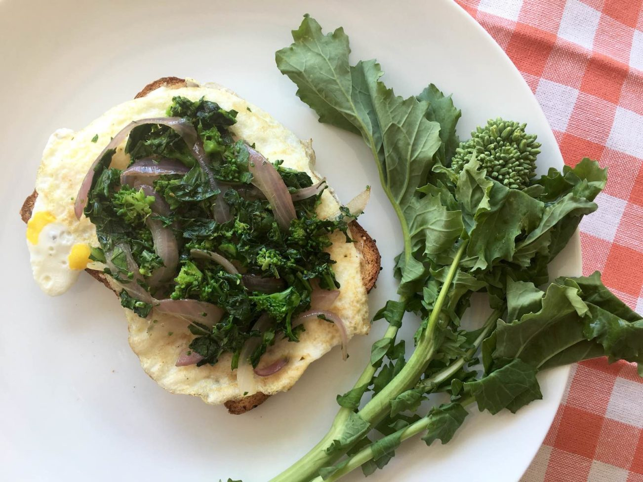 Broccoli Rabe Toast