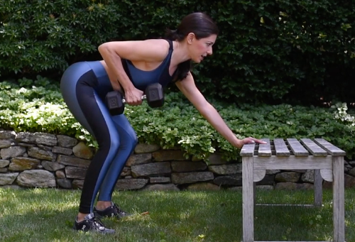 How to Do a Bent-Over Dumbbell Row the Right Way